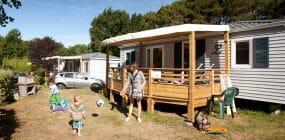 Mobilhome d'un camping à Carnac