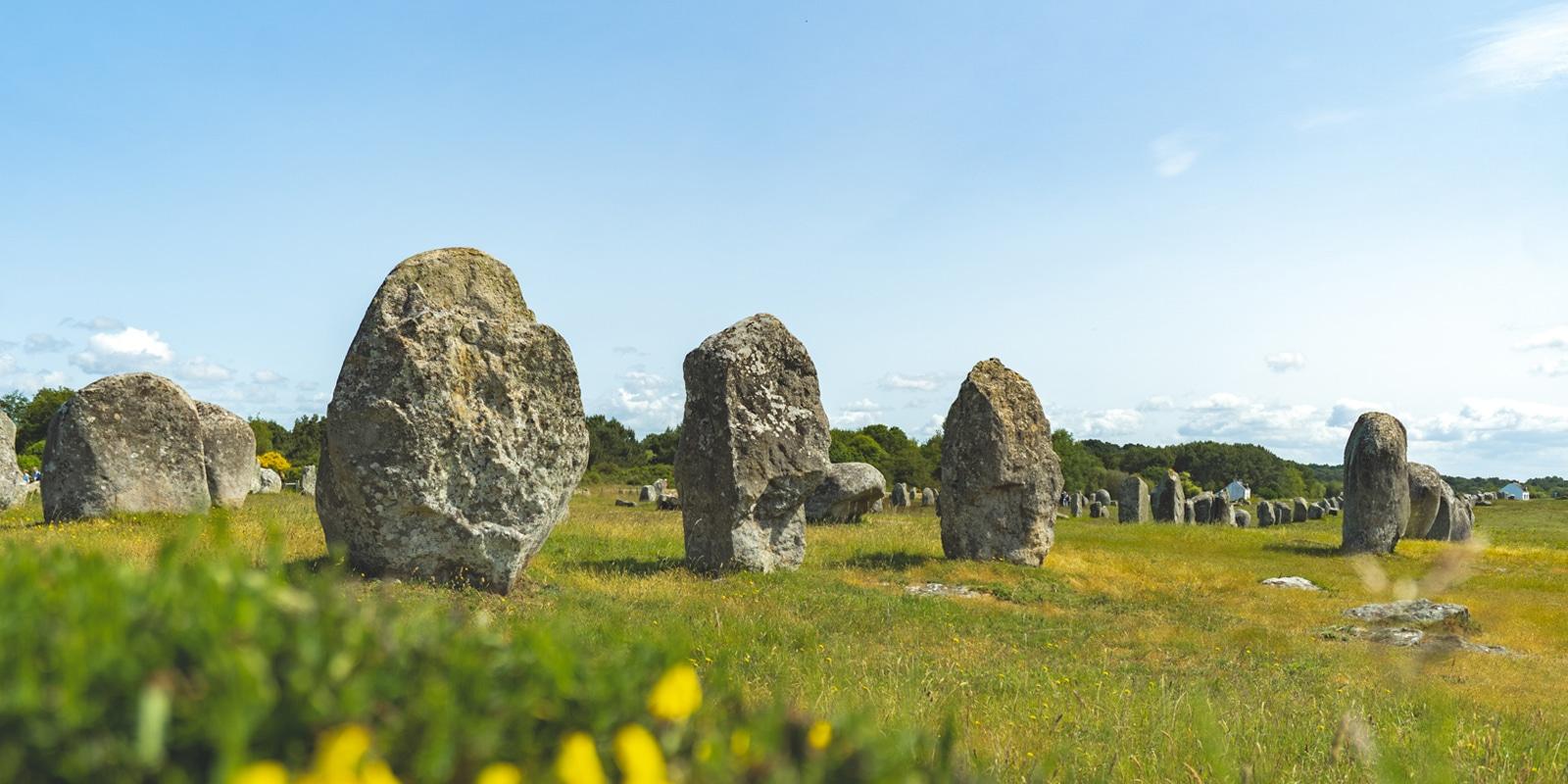 Photos de Carnac menhirs