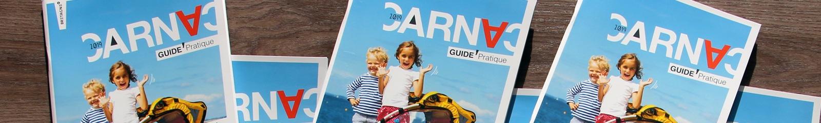 Guide pratique édité par l'OT Carnac