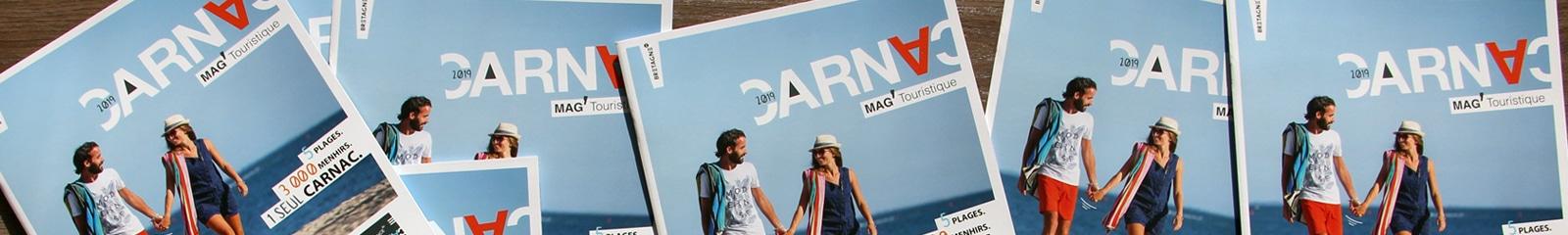 Mag' touristique édité par l'OT Carnac